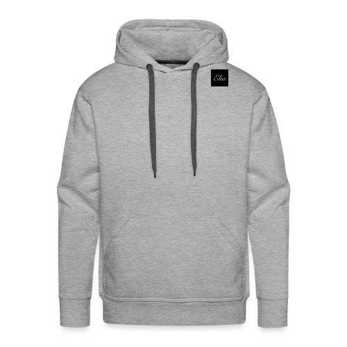 ELIA (Black and white) - Männer Premium Hoodie