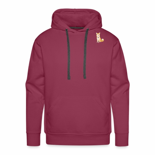 Akita Yuki Logo - Men's Premium Hoodie