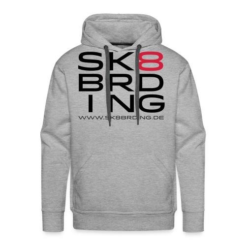 SK8BRDING Germany Logo 20 - Männer Premium Hoodie