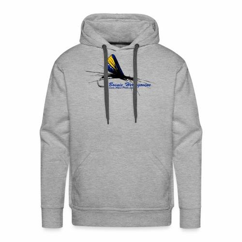 Alpes pêche - Bosnie - Sweat-shirt à capuche Premium pour hommes