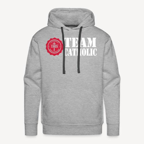 TEAM CATHOLIC - Men's Premium Hoodie