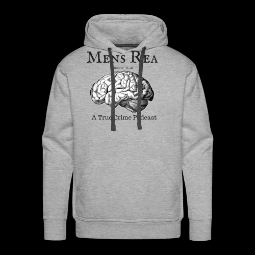 Guilty Mind Mens rea Logo - Men's Premium Hoodie