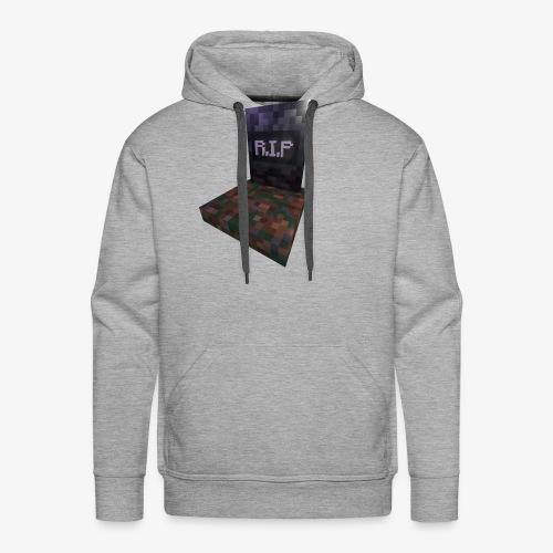 mc rip gravestone - Sweat-shirt à capuche Premium pour hommes