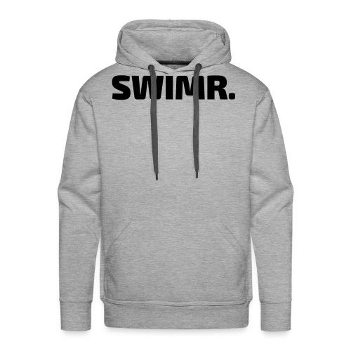 swimr-logo - Mannen Premium hoodie