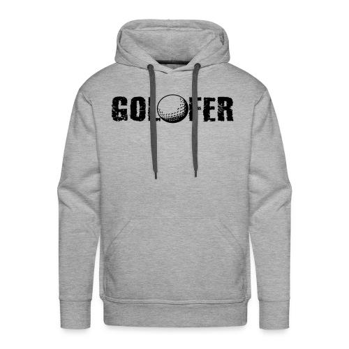 Golfer - Männer Premium Hoodie