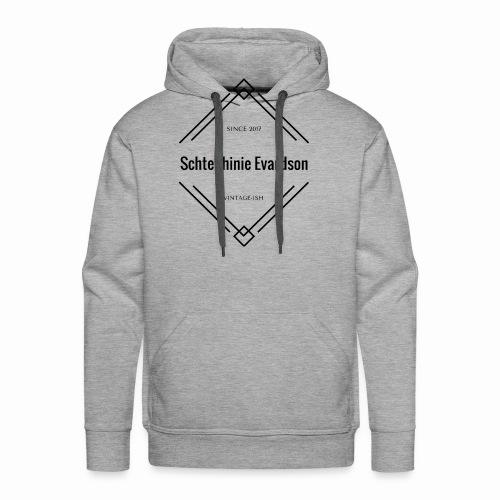 Vintage Schtephinie Evardson - Men's Premium Hoodie