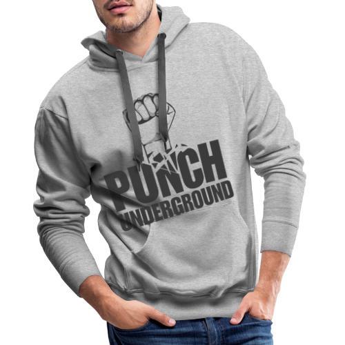 Punch Underground Black - Männer Premium Hoodie