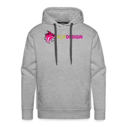 YopDesign-Ytub - Sweat-shirt à capuche Premium pour hommes