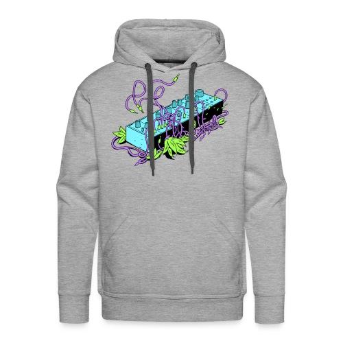 Modular Synthesizer - Black & Purple - Männer Premium Hoodie