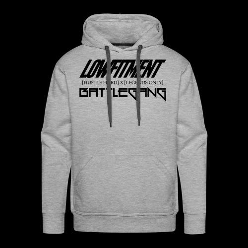 battlegang_lf - Mannen Premium hoodie