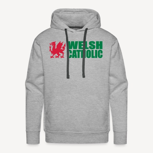 WELSH CATHOLIC - Men's Premium Hoodie
