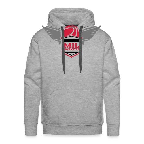 mil logo - Männer Premium Hoodie