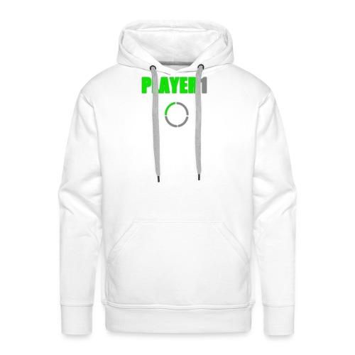 PLAYER 1 VideoJuegos - Sudadera con capucha premium para hombre