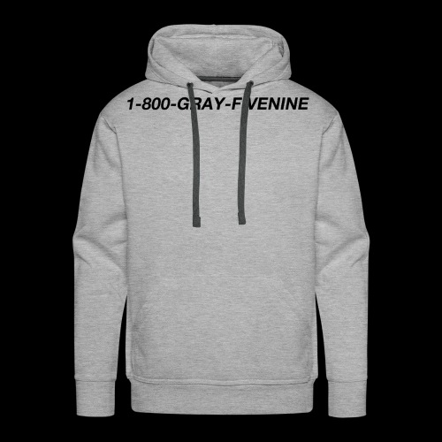 1-800-GRAY-FIVENINE - Premiumluvtröja herr