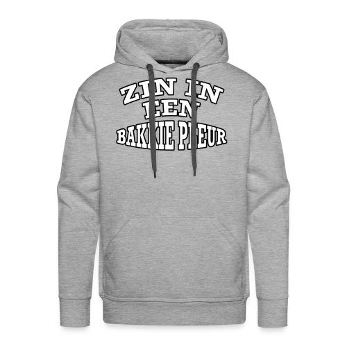 Rotterdam - Zin In Een Bakkie Pleur - Mannen Premium hoodie