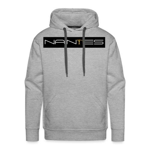 NanTes - Sweat-shirt à capuche Premium pour hommes