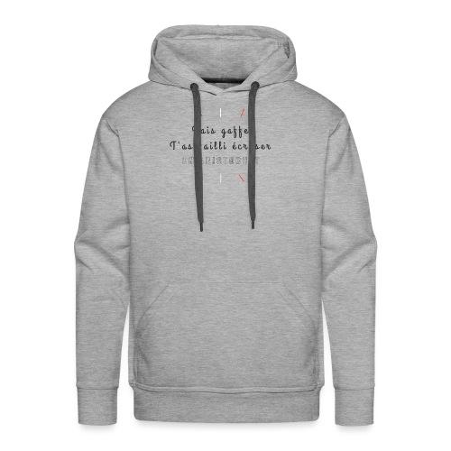 Aristochat - Sweat-shirt à capuche Premium pour hommes