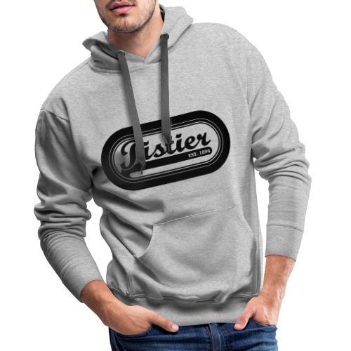 Koers Pistier baanwielrennen fixie - Mannen Premium hoodie