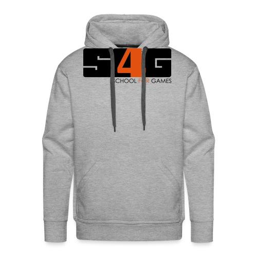 s4g logo v final - Männer Premium Hoodie