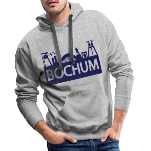 Bochumer Skyline - Männer Premium Hoodie