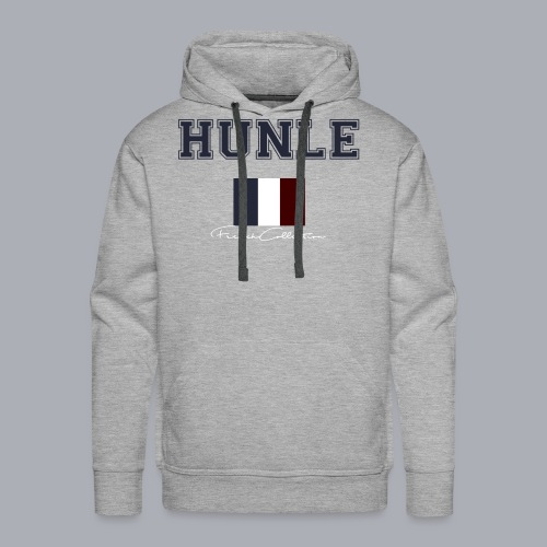 hunle French Collection n°1 - Sweat-shirt à capuche Premium pour hommes