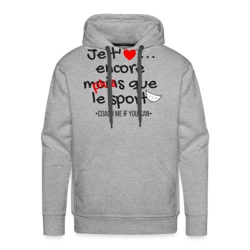 Saint Valentin - Sweat-shirt à capuche Premium pour hommes
