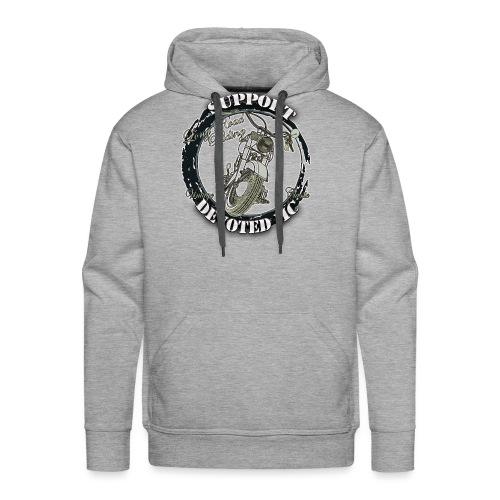 T-Shirt DEVOTEDMC SUPPORTSHOP10007 - Premium hettegenser for menn