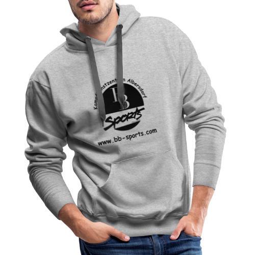 BB Sports Logo neu einfach 2 - Männer Premium Hoodie