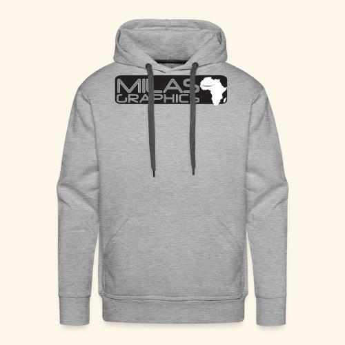 Milas Graphics Africa - Sweat-shirt à capuche Premium pour hommes