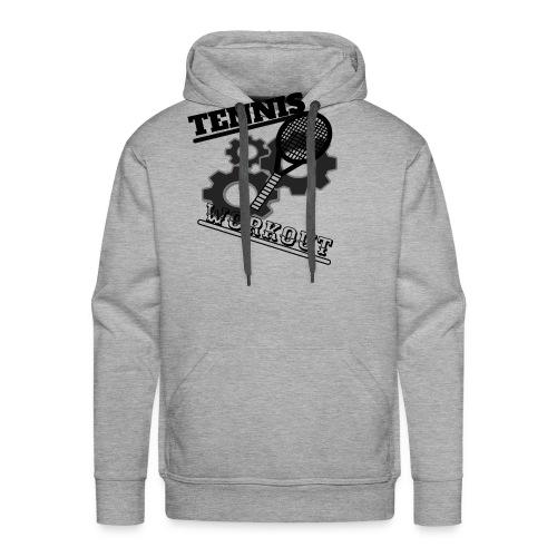 TENNIS WORKOUT - Men's Premium Hoodie
