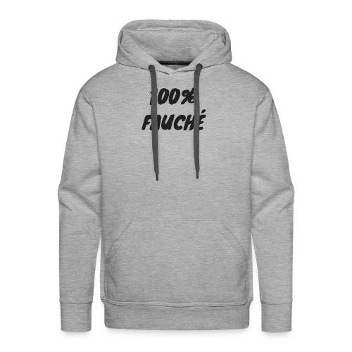 100 FAUCHÉ - Sweat-shirt à capuche Premium pour hommes