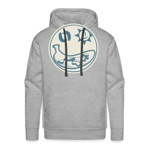 Banana Earth Society Logo - Men's Premium Hoodie