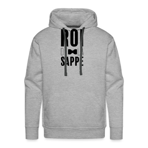 Roi de la sappe - Sweat-shirt à capuche Premium pour hommes