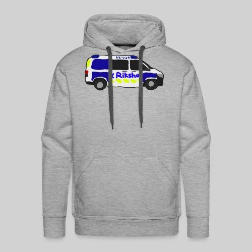 poliisiauto - Miesten premium-huppari