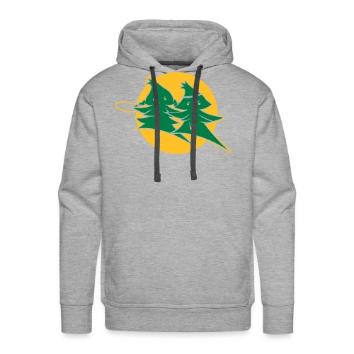 Forest Jump Logo 2farbig - Männer Premium Hoodie