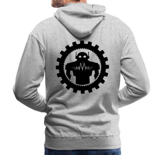 Black MMM Logo + Automaton - Herre Premium hættetrøje
