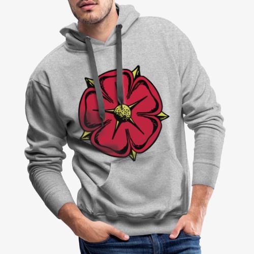 Lippische Rose - Männer Premium Hoodie