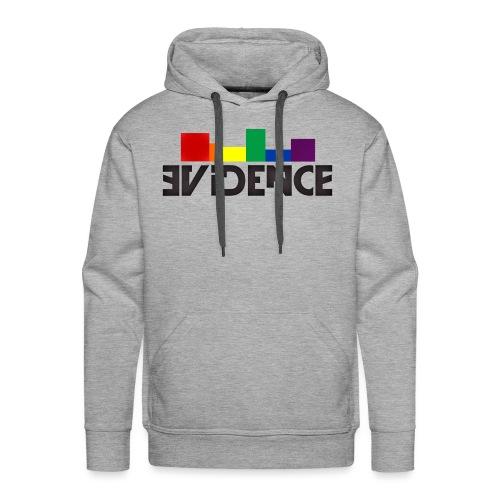 NEW EVIDENCE RAINBOW blk - Sweat-shirt à capuche Premium pour hommes