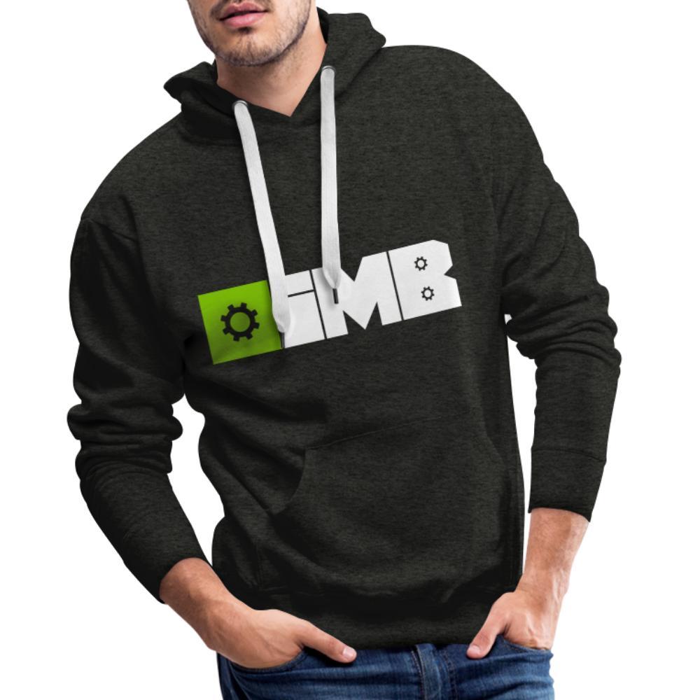 IMB Logo (plain) - Men's Premium Hoodie - charcoal grey
