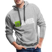 IMB Logo (plain) - Men's Premium Hoodie heather grey