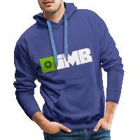 IMB Logo (plain) - Men's Premium Hoodie - royal blue