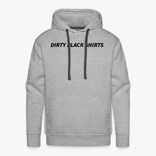 Dirty Black Shirts - Männer Premium Hoodie