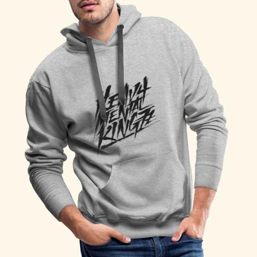 Heavy Mental KingZz Logo - Männer Premium Hoodie