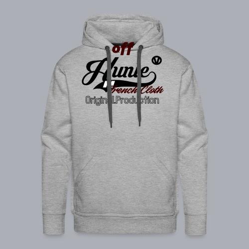 Hunle Veritable Collection n°2 - Sweat-shirt à capuche Premium pour hommes