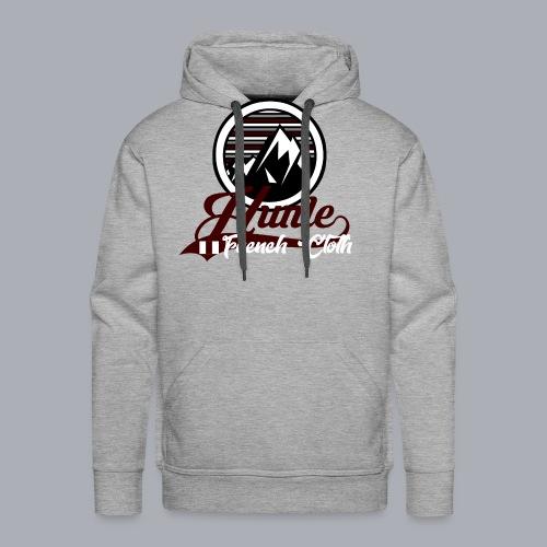 Hunle Graphic Mountain N°1 - Sweat-shirt à capuche Premium pour hommes
