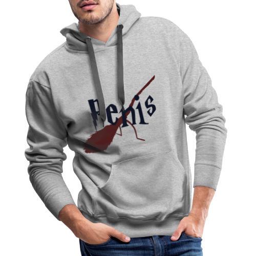 Penis - Sweat-shirt à capuche Premium pour hommes