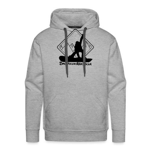 snowboardlife - Felpa con cappuccio premium da uomo