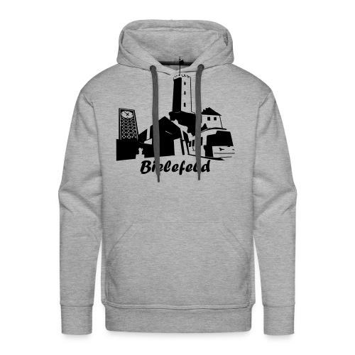 Bielefeld Skyline - Männer Premium Hoodie