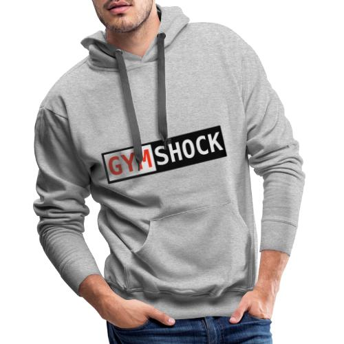 GYMSHOCK - Bluza męska Premium z kapturem