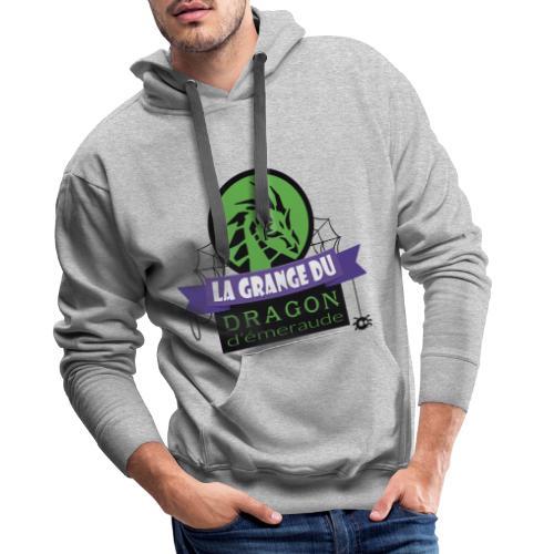 La grange du Dragon d'émeraude - Sweat-shirt à capuche Premium pour hommes